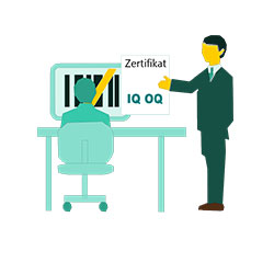 Die Norm DIN EN ISO/IEC 17025 ist die Arbeitsgrundlage in allen Prüf- und Kalibrierlaboratorien